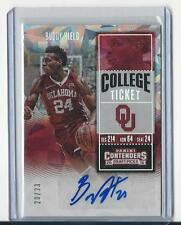 2016/17 Panini Contenders Draft Buddy Hield Auto /23 Autograph Cracked Ice