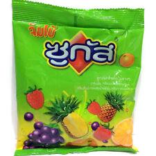 Sugus Jumbo Blackcurrant Raspberry Chewy Candy Thai Dessert Chew Snacks Lot 105G