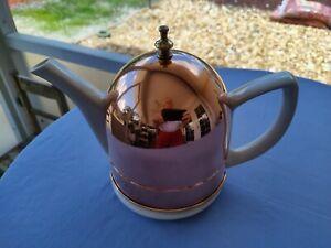 Baker Hart & Stuart Porcelain Teapot with Copper Cozy