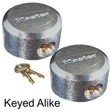 Master Lock 6271KA 2 Pack 2-7/8in. ProSeries Reinforced Hidden Shackle Rekeyable