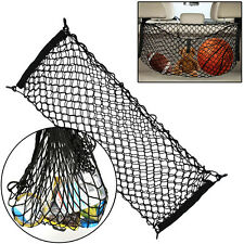 "Cargo Net | 35"" x 12"" Inch with Nylon Hooks Trunk Elastic Mesh Rear Truck Bed"