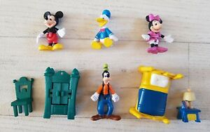 GOOFY AND FRIENDS disney accessories MICKEY MOUSE minnie BUNDLE joblot FIGURES