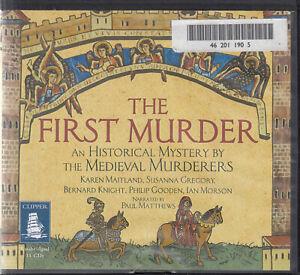 First Murder Historical Mystery Medieval Murderers 11CD Audio Book Unabridged