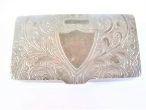 Antike Pillendose Silber 925, 29,14 g
