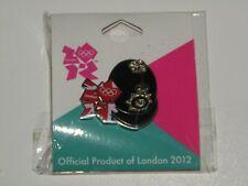 London 2012 Olympic Games Pin Badge Policeman Helmet - sealed packet