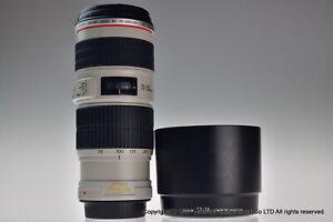 Near MINT Canon EF 70-200mm f/4L IS USM