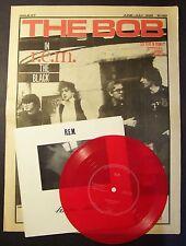 R.E.M. Femme Fatale RED Flexi + PS + The Bob Zine NEW rem