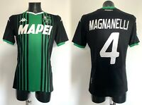 Magnanelli Sassuolo maglia prep Napoli Serie A 2019 2020 match worn issued shirt