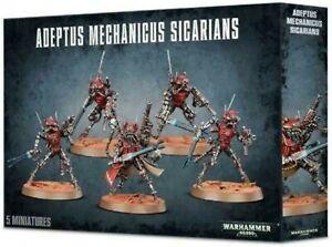 Warhammer 40000 Adeptus Mechanicus Sicarians [NEUF]