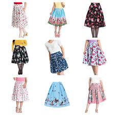 Wholesale Mixed Vintage RETRO 50s Job Lot 10 HELL BUNNY Skirts XXL 18 #3