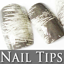 60 PCS Printed Pre-Design Decorated False Full Nail Tips 206-5