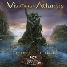 Deep & The Dark live VISIONS OF ATLANTIS  CD( NIGHTWISH, EPICA,WHITIN TEMPTATION