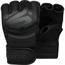 RDX F15 Sparring Martial Arts Grappling Fighting Cage Noir MMA Training Gloves