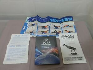 BOSU Complete Body Workout DVD 6 DVD Set Owners Manual Sweet 16 Poster NEW