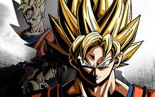 Poster A3 Dragon Ball Goku Bardock Gohan Xenoverse 01