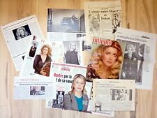 CATHERINE DENEUVE => lot 10 coupures de presse !!! FRENCH CLIPPINGS PACK