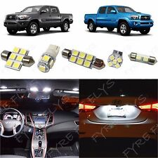 5x White LED lights interior package kit for 2005-2015 Toyota Tacoma TT3W