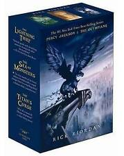 USED (GD) Percy Jackson and the Olympians Paperback Boxed Set (Books 1-3) by Ric