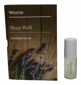Westin SLEEP WELL Aromatherapy Lavender Balm (0.1 oz/3 ml) Factory Seal NEW!!