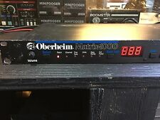 Oberheim Matrix 1000  Vintage Analog Synthesizer Rack Synth  //ARMENS//