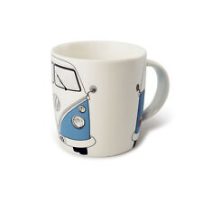 T1 Camper Bus Coffee Mug Cup Blue Volkswagen VW Collection by BRISA BUTA02