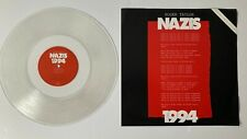 "Roger Taylor Nazis 1994 Original 12"" Clear Vinyl Single Numbered Edition 4835"