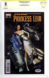 "STAN LEE Signed Autographed ""Princess LEIA"" Star Wars Comic Book BAS CBCS"