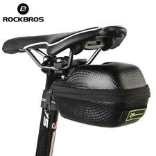 Rockbros Road Bike Saddle Bag MTB Seatpost Bag Waterproof Saddle Bag Black