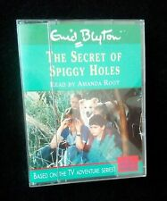 Audio Book The Secret of  Spiggy Holes 1 Cassette VGC read by Amanda Root