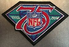 "NFL 75th Anniversary 1994 Season Embroidered Uniform Shoulder Patch 5"" X 3.5"""