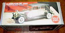 1928 Lincoln L-Series Dual Cowl Phaeton Tourer Sport Towncar