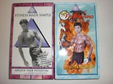 FITNESS MADE SIMPLE WITH JOHN BASEDOW 2PK VHS