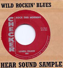 Blues/Rockabilly: LOWELL FULSON-Rock This Morning HEAR!