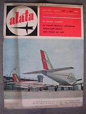 ALATA # 205 - RIVISTA AERONAUTICA - LUGLIO 1962 - BUONO