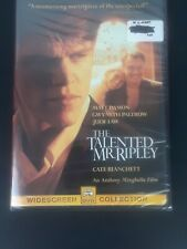 (New) The Talented Mr. Ripley (Dvd,2000, Widescreen) Factory Sealed