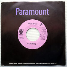 Red Herring soul Funk rock 45 Dirty Movies 3:28 Strong Vg+ double-a Promo e9438