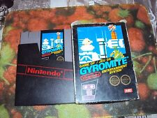 GAMEOF/JEU DE GYROMITE NINTENDO ENTERTAINMENT SYSTEM