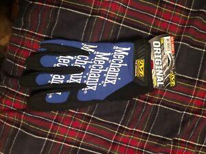 New 1 PAIR XXL 2XL Mechanix Blue ORIGINAL gloves  Driving Work biking soccer