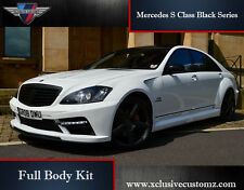 Mercedes S Class Black Series Full Body Kit for Mercedes S Class W221