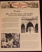 Disneyland 1976 Walt Disney Footsteps America Patriotic Cast Member News Photos
