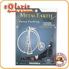 Fascination Metal Earth Penny-Farthing Bicycle 3D Laser Cut Metal Model Kit