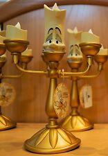 Disney Parks Beauty & The Beast Lumiere Candle Stick Light Up Figure New w/ Box