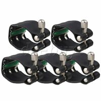 5 x Leather Ligature with Metal Plate for Tenor Saxophone Mouthpiece