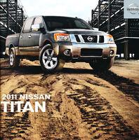 2011 Nissan Titan Truck 32-page Original Car Sales Brochure Catalog