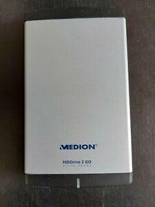 Medion HDDrive 2 Go in ALU-Gehäuse, 320GB, USB, eSATA!!!
