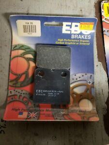 EBC - FA18 - Organic Brake Pads