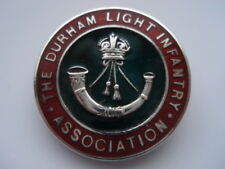 1938 THE DURHAM LIGHT INFANTRY ASSOCIATION CHESTER SILER7ENAMEL LAPEL BADGE