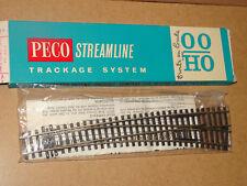 PECO ( SL 86 X ) AIGUILLAGE GRANDE COURBE A DROITE RAILS MAILLECHORT EN BOITE HO
