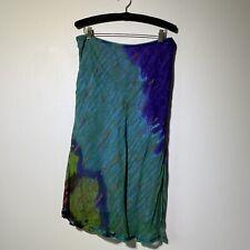 Large Womans Vintage Phool Midi Skirt