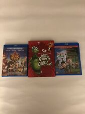 Lot of 3 Kids Movies, The Book Of Life, How The Grinch Stole Christmas, Holiday
